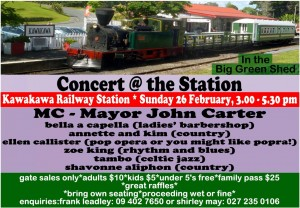 Concert at the Station Feb 2017 with Gabriel at Station