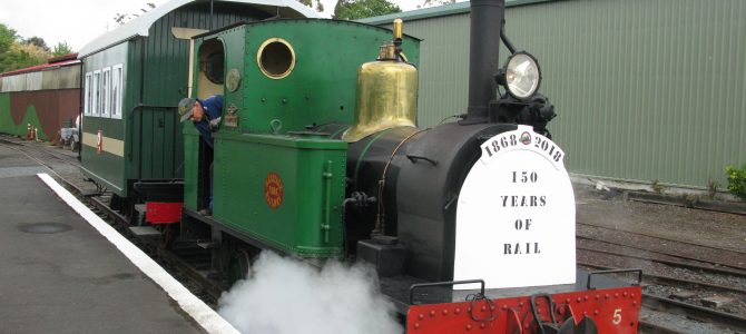 Report & photos re Steam weekend celebrating 150 years of N Island Rail – 26-28th October