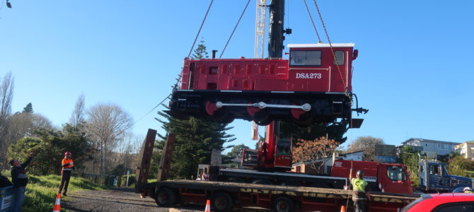 Kauri has landed – our new DSA273 loco